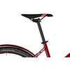 Cube Cross Hybrid Pro Allroad 400 Rower elektryczny crossowy Trapez czerwony